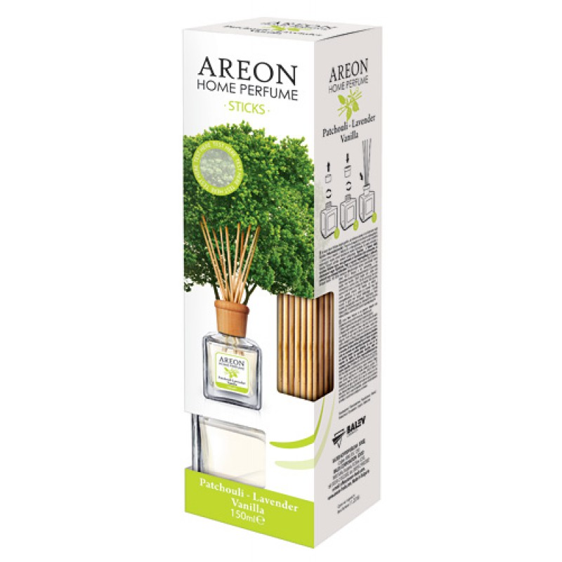 AREON HOME PERFUME  - Patchouli & Lavender Vanilla  150ml-es szobai légfrissítő